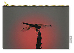 Dragonfly Sunset Carry-all Pouch