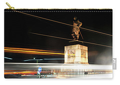 Drake's Statue Traffic Trails Iv Carry-all Pouch