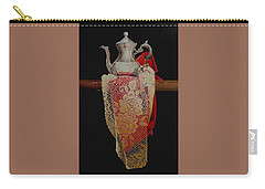 Draped Tea Service Carry-all Pouch