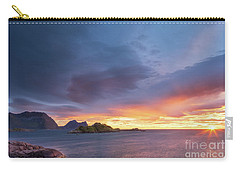 Dreamy Sunset Carry-all Pouch by Maciej Markiewicz