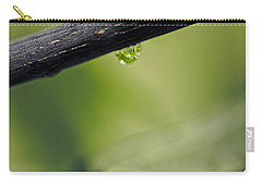 Carry-all Pouch featuring the photograph Droplet by Cendrine Marrouat