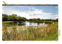 Duck Pond Carry-all Pouch by Ricky Dean