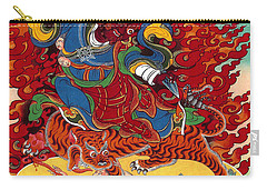 Dudjom's Dorje Drollo Carry-all Pouch by Sergey Noskov