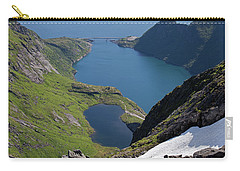Djupfjord And Lake 229 From Munken Carry-all Pouch