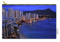 Dusk On Waikiki Carry-all Pouch