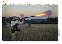 Early 1800's Flintlock Muzzleloader Blast Carry-all Pouch by Nadja Rider