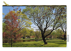 Carry-all Pouch featuring the photograph Early Spring by John Scates