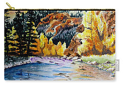 East Clear Creek Carry-all Pouch by Jimmy Smith