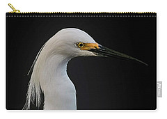 Egret Carry-all Pouch by Cyndy Doty