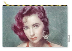 Elizabeth Taylor By John Springfield Carry-all Pouch