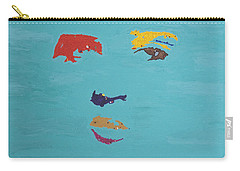 Elvis In The Sky Carry-all Pouch by Stormm Bradshaw
