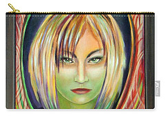 Emerald Girl Carry-all Pouch