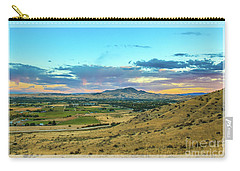 Carry-all Pouch featuring the photograph Emmett Valley by Robert Bales