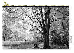 Empty Bench Carry-all Pouch by David Stasiak
