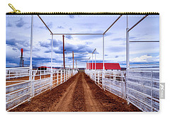 Empty Corrals Carry-all Pouch by L O C