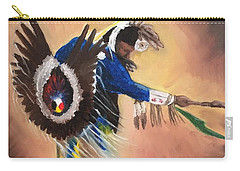 Everybody Dance #1 Carry-all Pouch by Michael  TMAD Finney