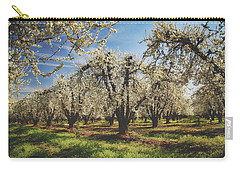 Carry-all Pouch featuring the photograph Everything Is New Again by Laurie Search