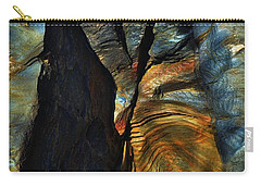 Carry-all Pouch featuring the photograph Faces by EDi by Darlene