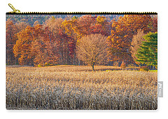 Carry-all Pouch featuring the photograph Fading Fall by R Thomas Berner