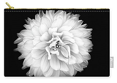 Carry-all Pouch featuring the photograph Fall Dahlia by Louise Lindsay