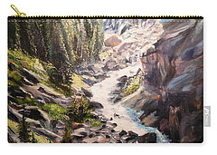 Falls Below Rimrock Lake Carry-all Pouch