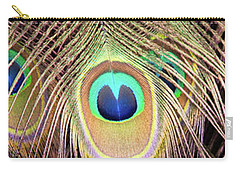 Carry-all Pouch featuring the photograph Fan Of Feathers by Joye Ardyn Durham