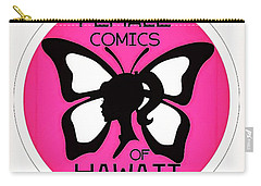 Female Comics Of Hawaii Carry-all Pouch by Erika Swartzkopf