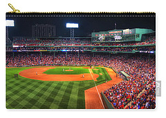 Fenway Park At Night - Boston Carry-all Pouch by Joann Vitali