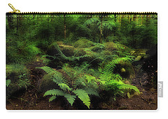 Ferns Of The Forest Carry-all Pouch by Mike Eingle