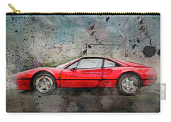 Carry-all Pouch featuring the photograph Ferrari 308 by Joel Witmeyer