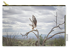 Ferruginous Hawk Carry-all Pouch by Tam Ryan