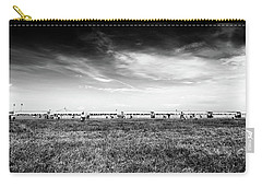 Carry-all Pouch featuring the photograph Fields Of The Elysium Locomotive by John Williams