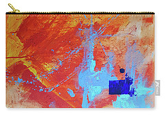 Fire And Ice Carry-all Pouch by John Jr Gholson