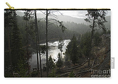 Firehole River In Yellowstone Carry-all Pouch by Cindy Murphy - NightVisions