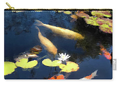 Fish Pond Carry-all Pouch by Gary Grayson