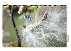 Flight Of The Milkweed Carry-all Pouch
