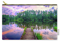 Carry-all Pouch featuring the photograph Flint Creek by Maddalena McDonald