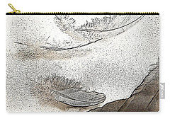 Flocking Feathers Carry-all Pouch