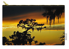 Central Florida Sunset Carry-all Pouch by David Lee Thompson