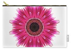 Flower Mandala  Carry-all Pouch by Andrea Kollo