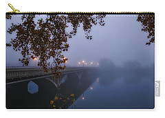 Fog On The River Carry-all Pouch by Lynn Hopwood