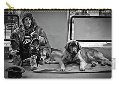 For The Love Of Dog Carry-all Pouch