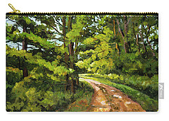 Forest Pathway Carry-all Pouch by Alexandra Maria Ethlyn Cheshire