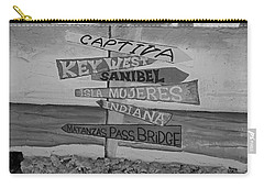 Fort Myers Beach Mural Carry-all Pouch