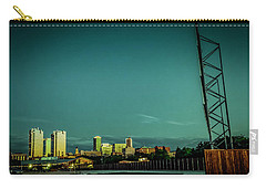 Fortworth Texas Cityscape Carry-all Pouch