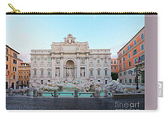 Fountain Di Trevi And Sunrise, Rome Carry-all Pouch