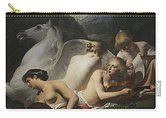 Four Muses And Pegasus Carry-all Pouch