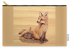 Fox Carry-all Pouch by Ron Haist