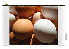 Framed Eggs Carry-all Pouch