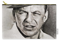 Frank Sinatra, Hollywood Legend By John Springfield Carry-all Pouch by John Springfield